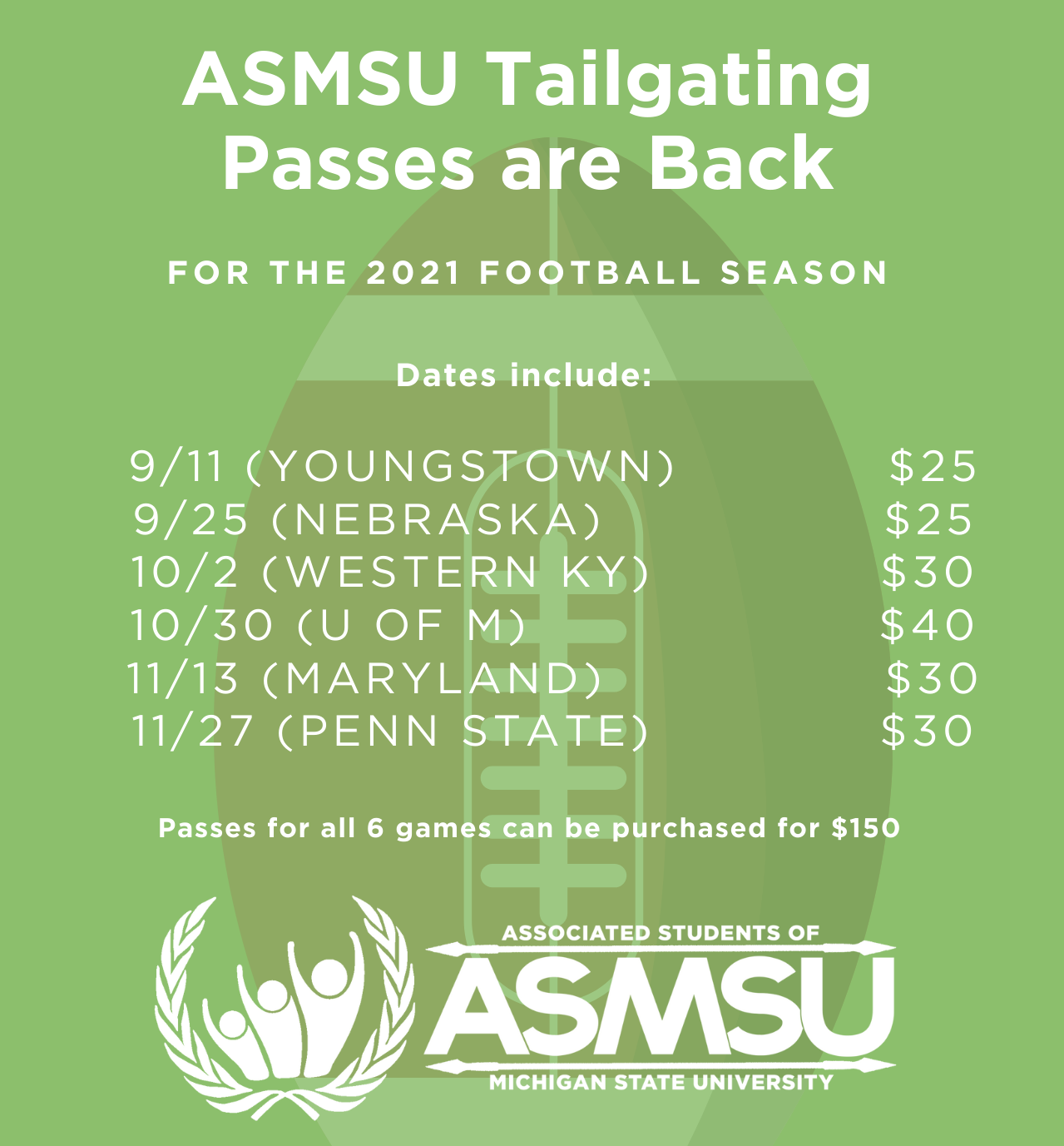Tailgate Information